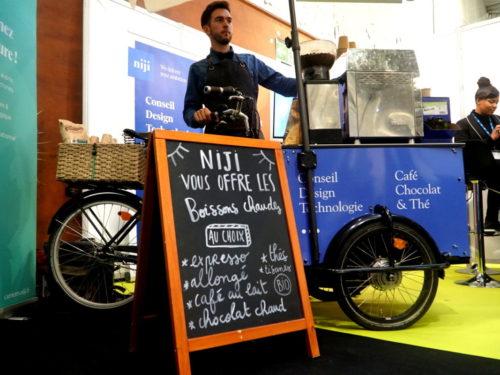Triporteur café événementiel Rennes