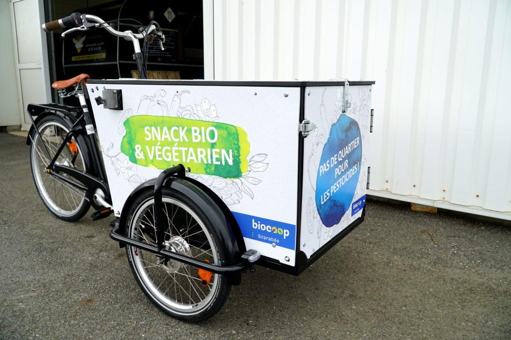Location de Vélo publicitaire à Rennes