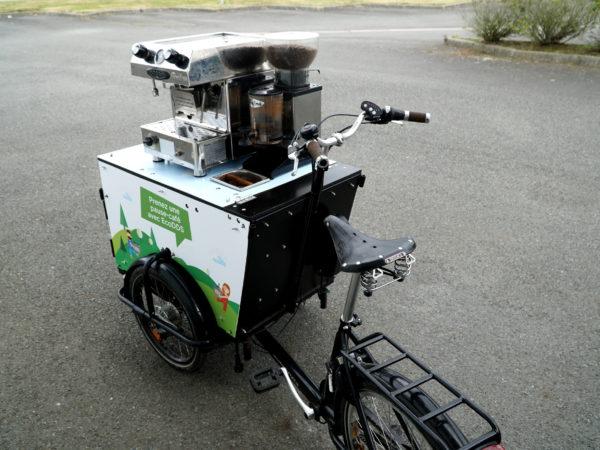 Vélo personnalisé pour de l'événementiel
