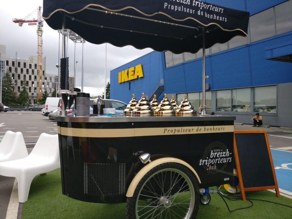 Traiteur glaces à Nantes